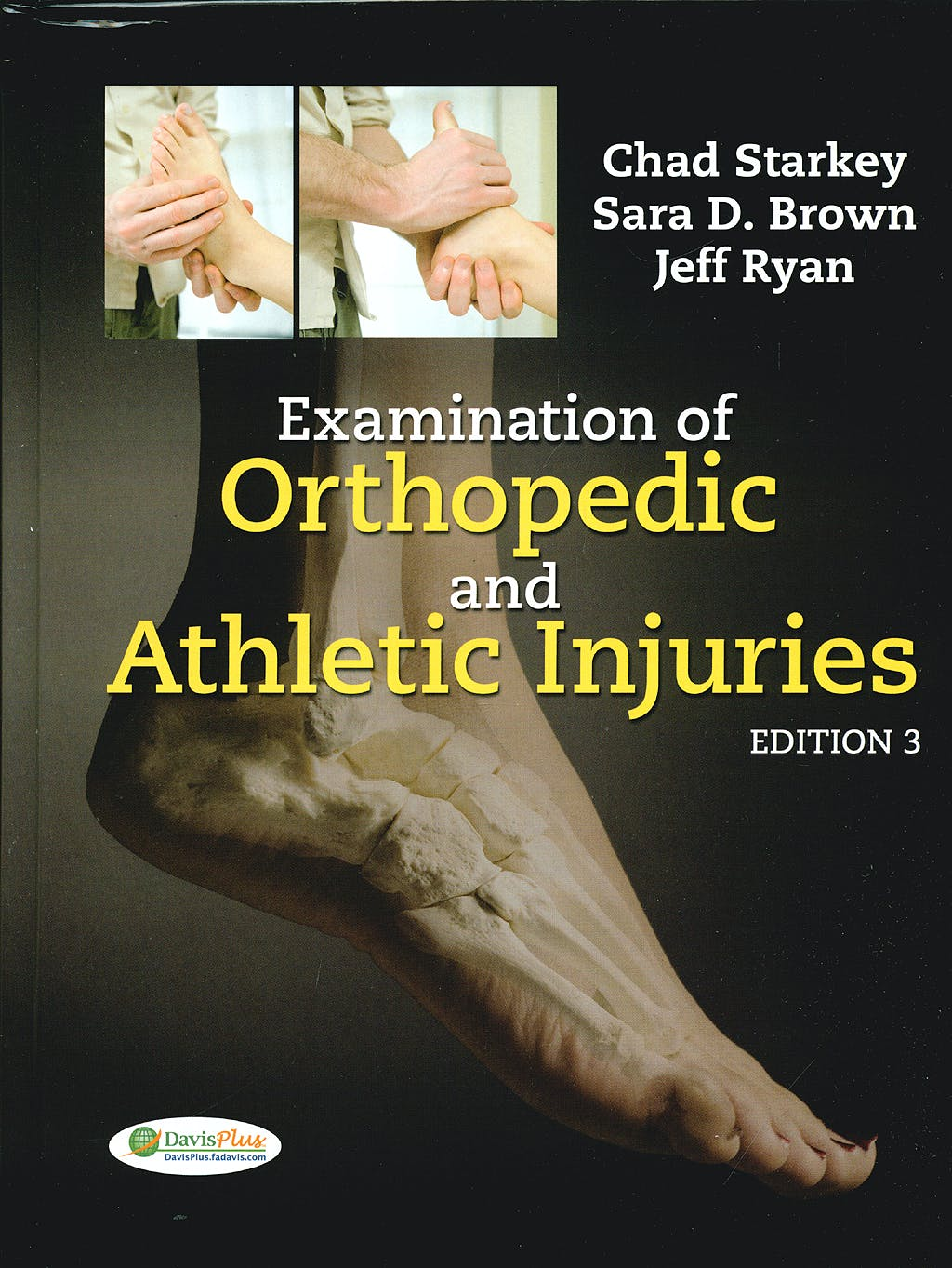 Portada del libro 9780803617209 Examination of Orthopedic and Athletic Injuries