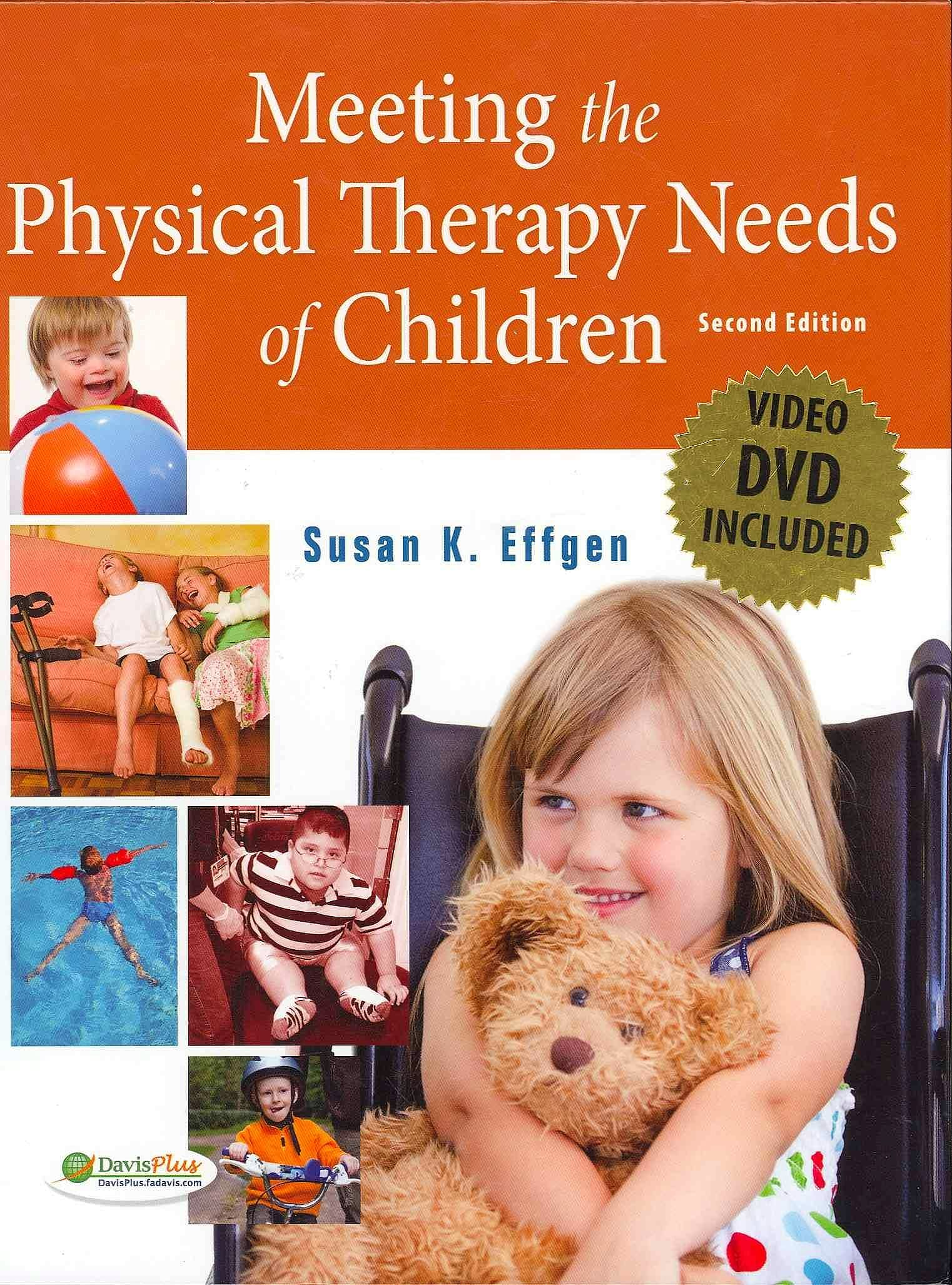 Portada del libro 9780803619425 Meeting the Physical Therapy Needs of Children + Dvd