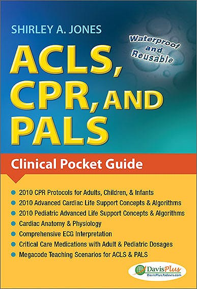 Portada del libro 9780803623149 Acls, Cpr, and Pals: Clinical Pocket Guide