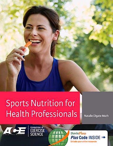 Portada del libro 9780803629554 Sports Nutrition for Health Professionals