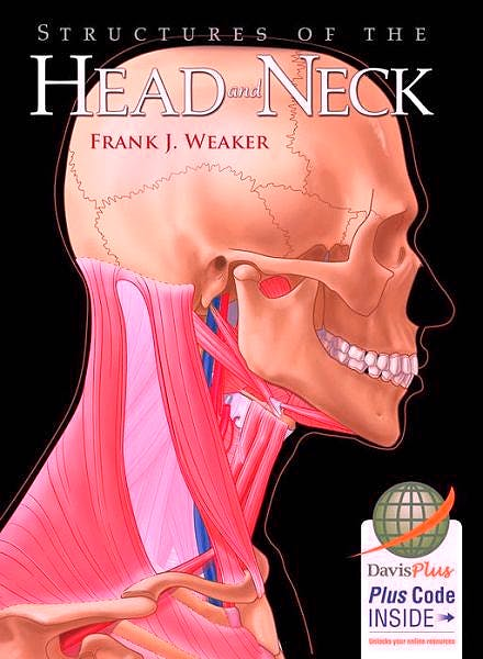 Portada del libro 9780803629585 Structures of the Head and Neck + Acceso Online