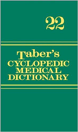 Portada del libro 9780803629776 Taber's Cyclopedic Medical Dictionary (Thumb-Indexed Version)