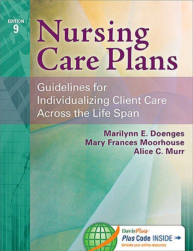 Portada del libro 9780803630413 Nursing Care Plans. Guidelines for Individualizing Client Care across the Life Span