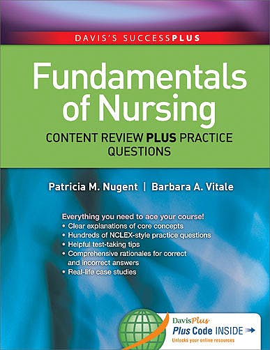 Portada del libro 9780803637061 Fundamentals of Nursing. Content Review plus Practice Questions