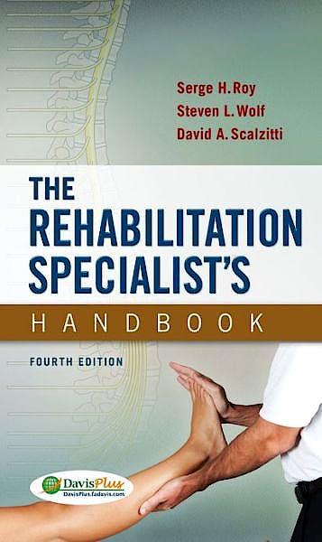 Portada del libro 9780803639065 The Rehabilitation Specialist's Handbook
