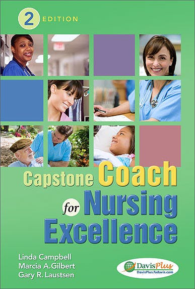 Portada del libro 9780803639072 Capstone Coach for Nursing Excellence