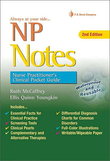 Portada del libro 9780803639089 Np Notes: Nurse Practitioner's Clinical Pocket Guide