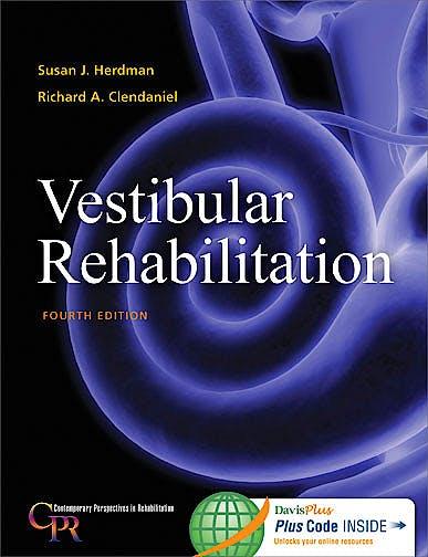Portada del libro 9780803639706 Vestibular Rehabilitation + Online Access