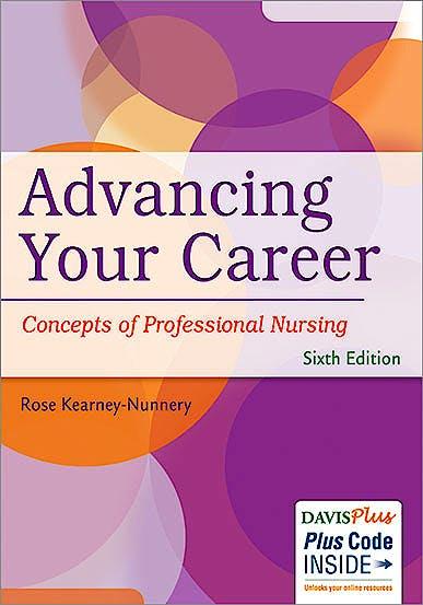 Portada del libro 9780803642034 Advancing Your Career: Concepts in Professional Nursing