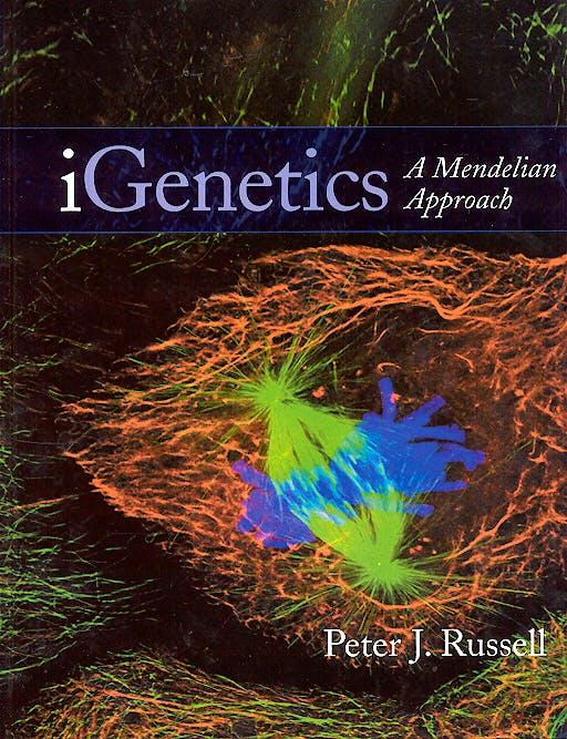 Portada del libro 9780805346664 I Genetics. a Mendelian Approach