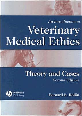 Portada del libro 9780813803999 An Introduction to Veterinary Medical Ethics. Theory and Cases
