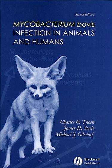 Portada del libro 9780813809199 Mycobacterium Bovis Infection in Animals and Humans