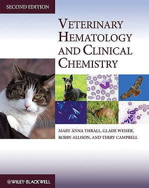 Portada del libro 9780813810270 Veterinary Hematology and Clinical Chemistry