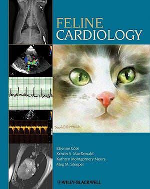 Portada del libro 9780813812427 Feline Cardiology