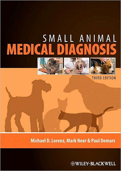 Portada del libro 9780813813387 Small Animal Medical Diagnosis
