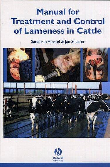 Portada del libro 9780813814186 Manual for Treatment and Control of Lameness in Cattle