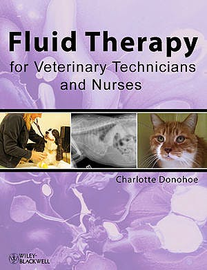 Portada del libro 9780813814841 Fluid Therapy for Veterinary Technicians and Nurses