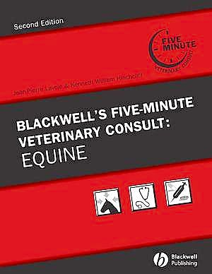 Portada del libro 9780813814872 Blackwell's Five-Minute Veterinary Consult: Equine