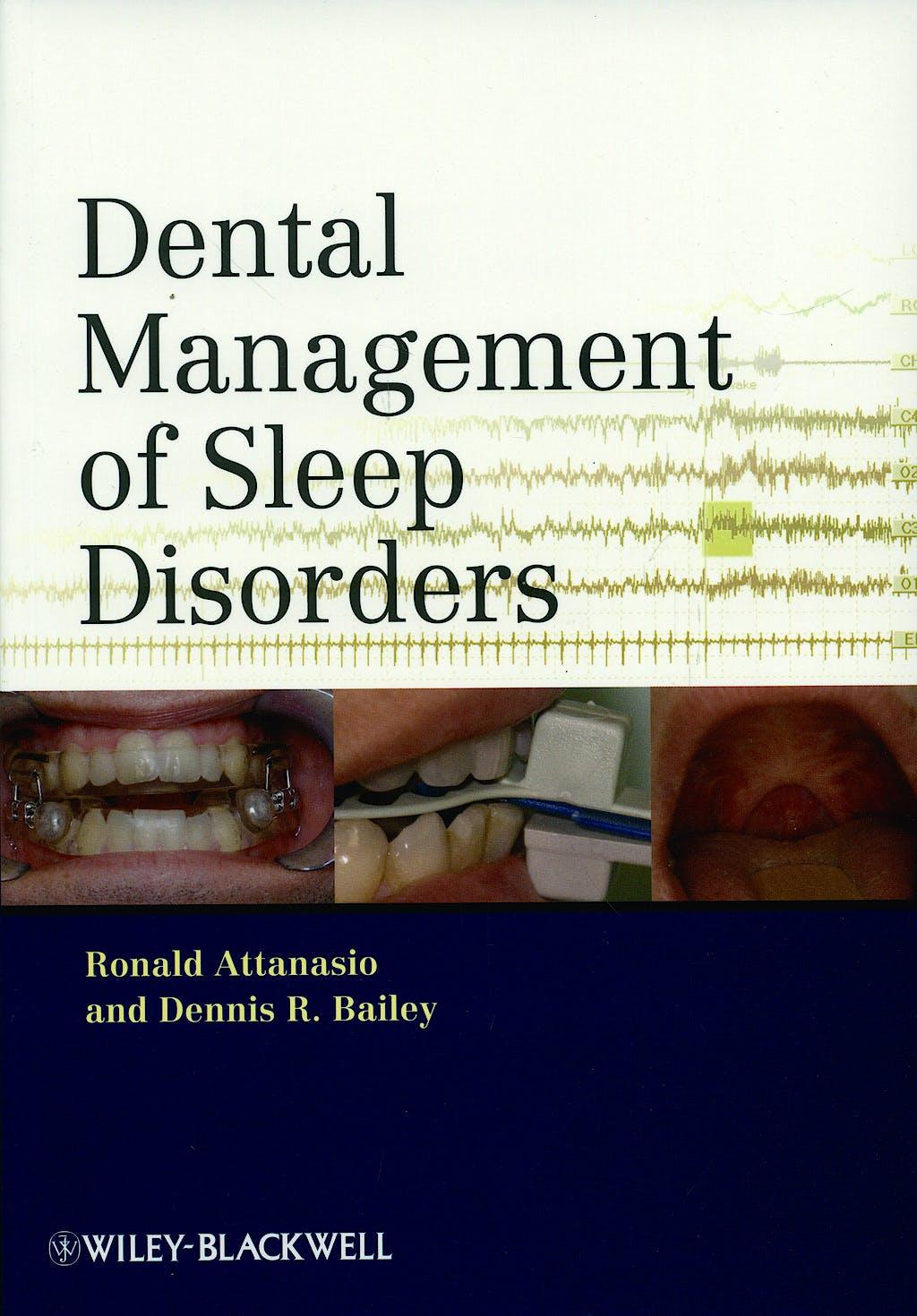 Portada del libro 9780813819136 Dental Management of Sleep Disorders