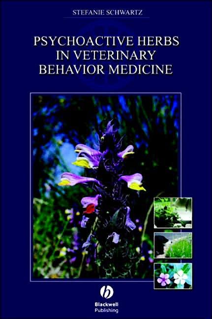 Portada del libro 9780813822990 Psychoactive Herbs in Veterinary Behavior Medicine