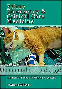 Portada del libro 9780813823119 Feline Emergency and Critical Care Medicine