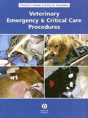 Portada del libro 9780813823317 Veterinary Emergency and Critical Care Procedures