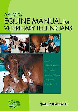 Portada del libro 9780813829715 Aaevt's Equine Manual for Veterinary Technicians