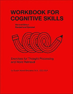 Portada del libro 9780814333136 Workbook for Cognitive Skills. Exercises for Thought Processing and Word Retrieval