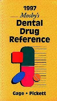 Portada del libro 9780815134534 Mosby 1997 Dental Drug Reference