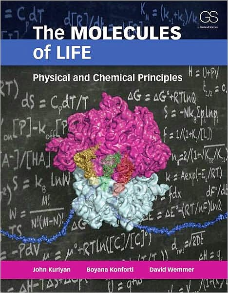 Portada del libro 9780815341888 The Molecules of Life: Physical and Chemical Principles