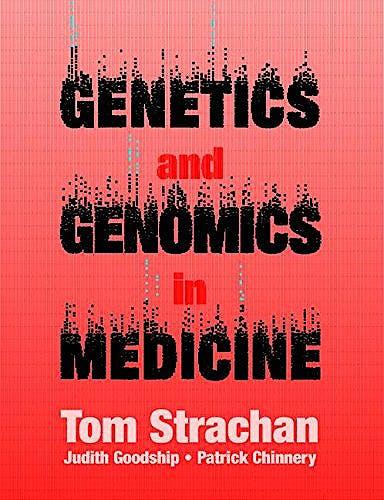 Portada del libro 9780815344803 Genetics and Genomics In Medicine