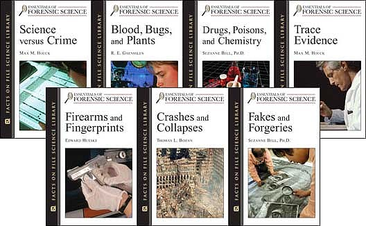 Portada del libro 9780816055074 Essentials of Forensic Science Set, 7-Volumes