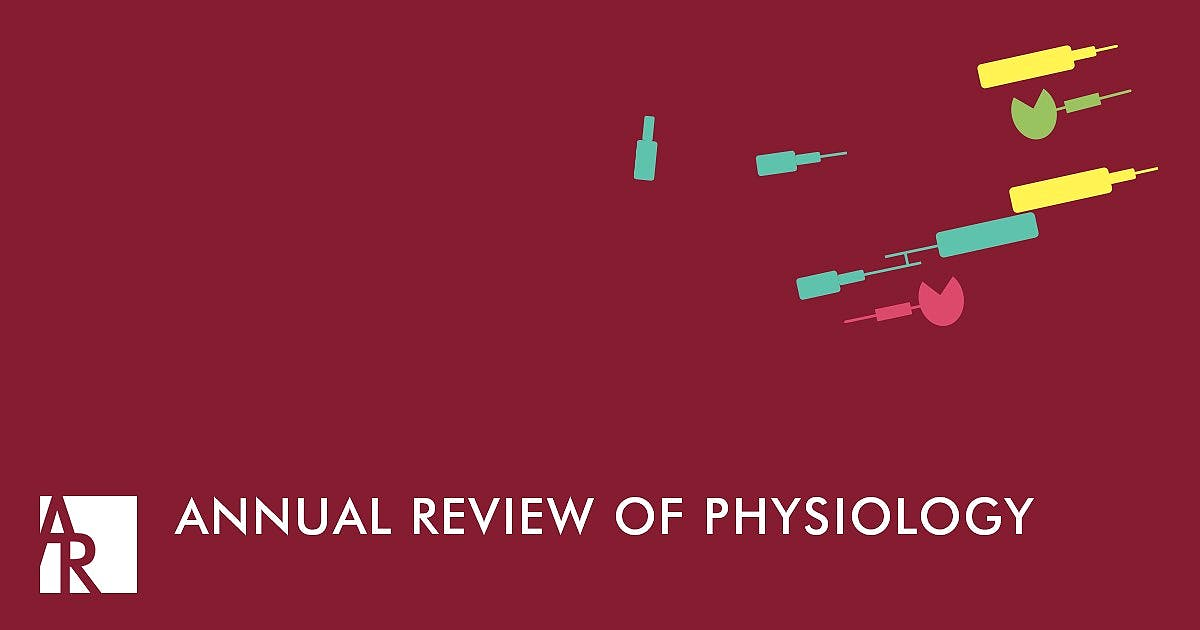 Portada del libro 9780824303815 Annual Review of Physiology, Vol. 81