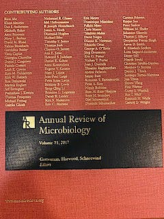 Portada del libro 9780824311711 Annual Review of Microbiology, Vol. 71