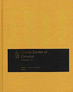 Portada del libro 9780824312466 Annual Review of Genetics, Vol. 46