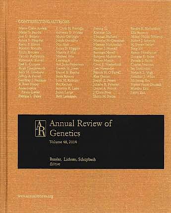 Portada del libro 9780824312480 Annual Review of Genetics, Vol. 47