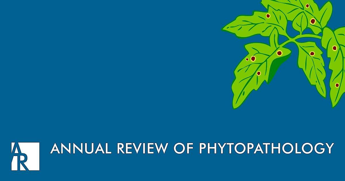 Portada del libro 9780824313548 Annual Review of Phytopathology, Vol. 54