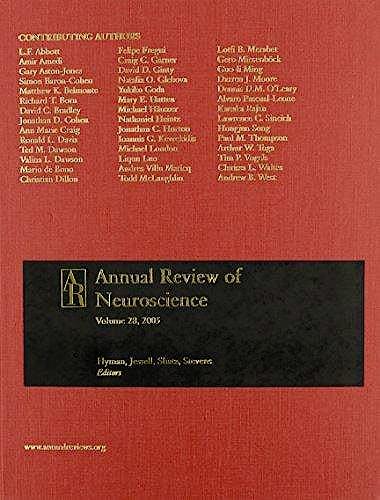 Portada del libro 9780824324414 Annual Review of Neuroscience, Vol. 41