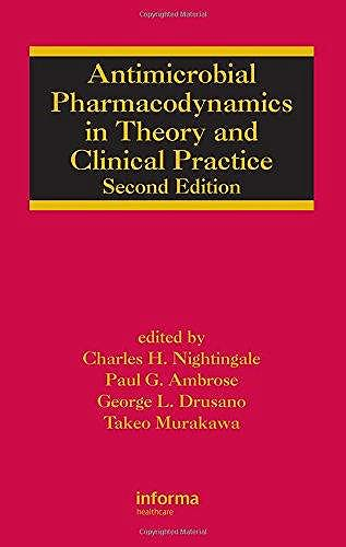 Portada del libro 9780824705619 Antimicrobial Pharmacodinamicsin Theory & Clinical Practice