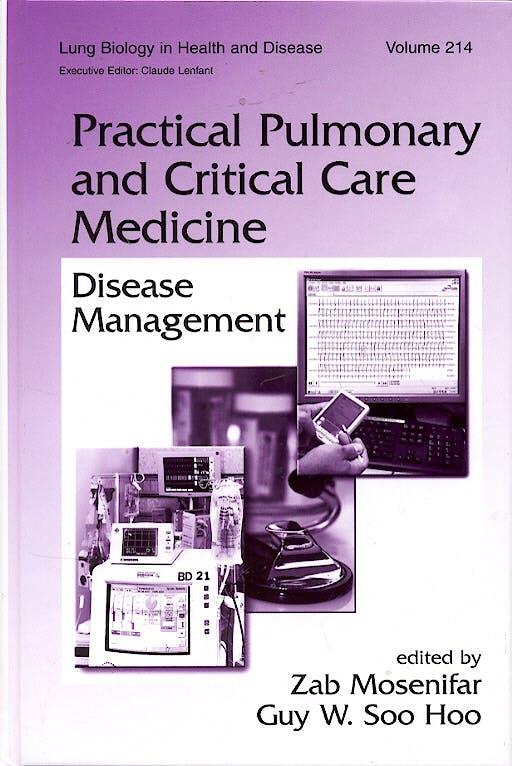 Portada del libro 9780824725976 Practical Pulmonary and Critical Care Medicine: Disease Management