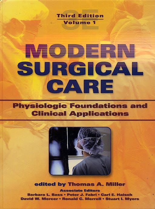 Portada del libro 9780824728694 Modern Surgical Care, 2 Vols.