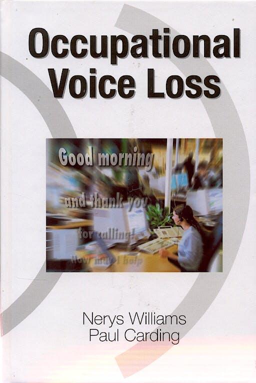 Portada del libro 9780824728779 Occupational Voice Loss