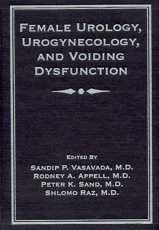 Portada del libro 9780824754266 Female Urology, Urogynecology, and Voiding Dysfunction
