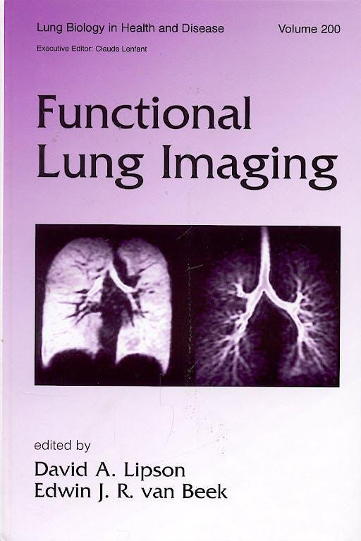 Portada del libro 9780824754273 Functional Lung Imaging