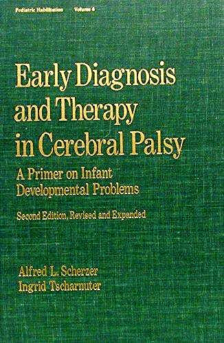 Portada del libro 9780824781095 Early Diagnosis and Therapy in Cerebral Palsy