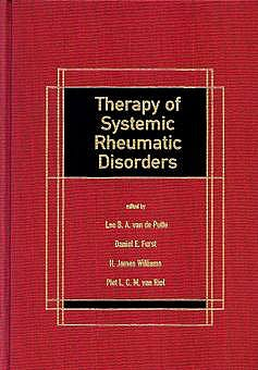 Portada del libro 9780824795160 Therapy of Systemic Rheumatic Disorders