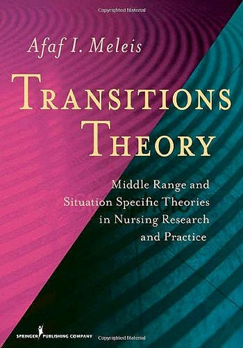 Portada del libro 9780826105349 Transitions Theory: Middle Range and Situation Specific Theories in Nursing Research And