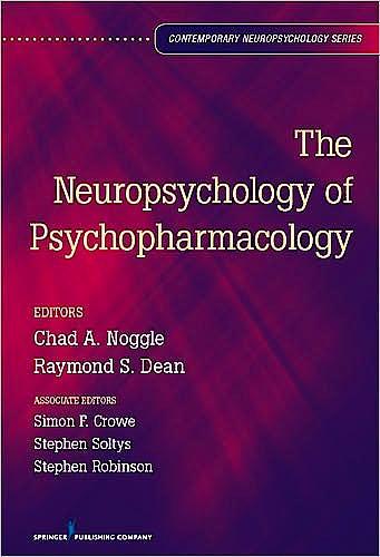Portada del libro 9780826107169 The Neuropsychology of Psychopharmacology