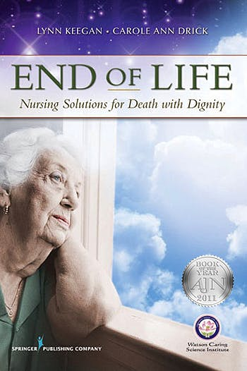 Portada del libro 9780826107596 End of Life. Nursing Solutions for Death with Dignity