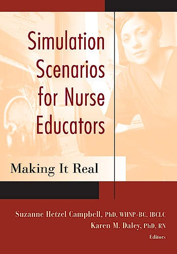 Portada del libro 9780826122421 Simulation Scenarios for Nursing Education